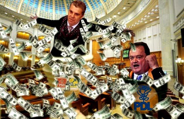 Valeriu Zgonea: Dar ce, voi n-aţi cheltuit aiurea, ipocriţilor?