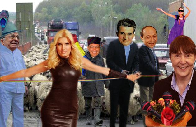 Victor Ponta: Asta este, dragi români, Autostrada Democraţiei, pe care tocmai o inaugurăm!
