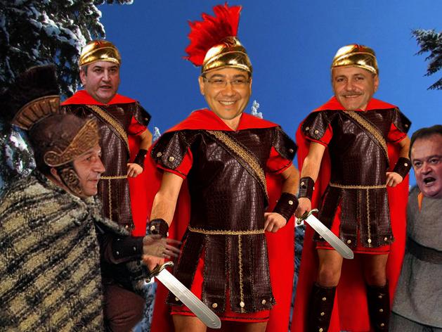 Victor Pontus: Traianus s-a dat cu dacii, ca să-i fraierească cu mărul mioritic!