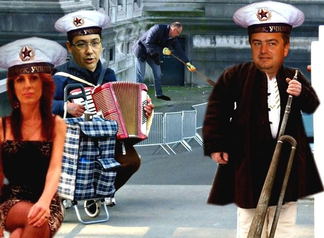 Victor Ponta: Nu fiţi trişti, în fond încă reprezentăm România!