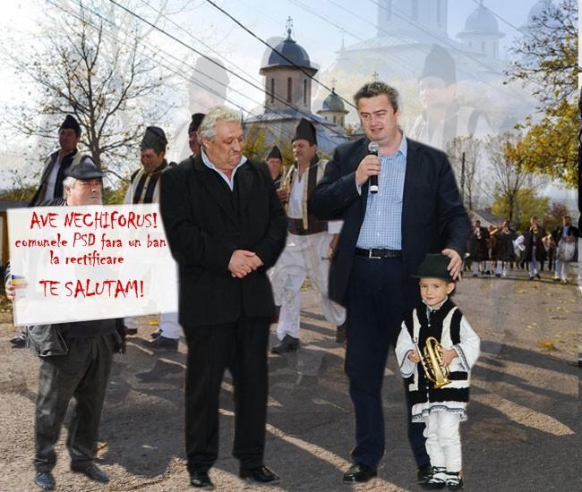 Nechifor, Preşedintele CJ Suceava: Sunteţi siguri că aici e Suceava? Că eu nu prea mi-o amintesc...