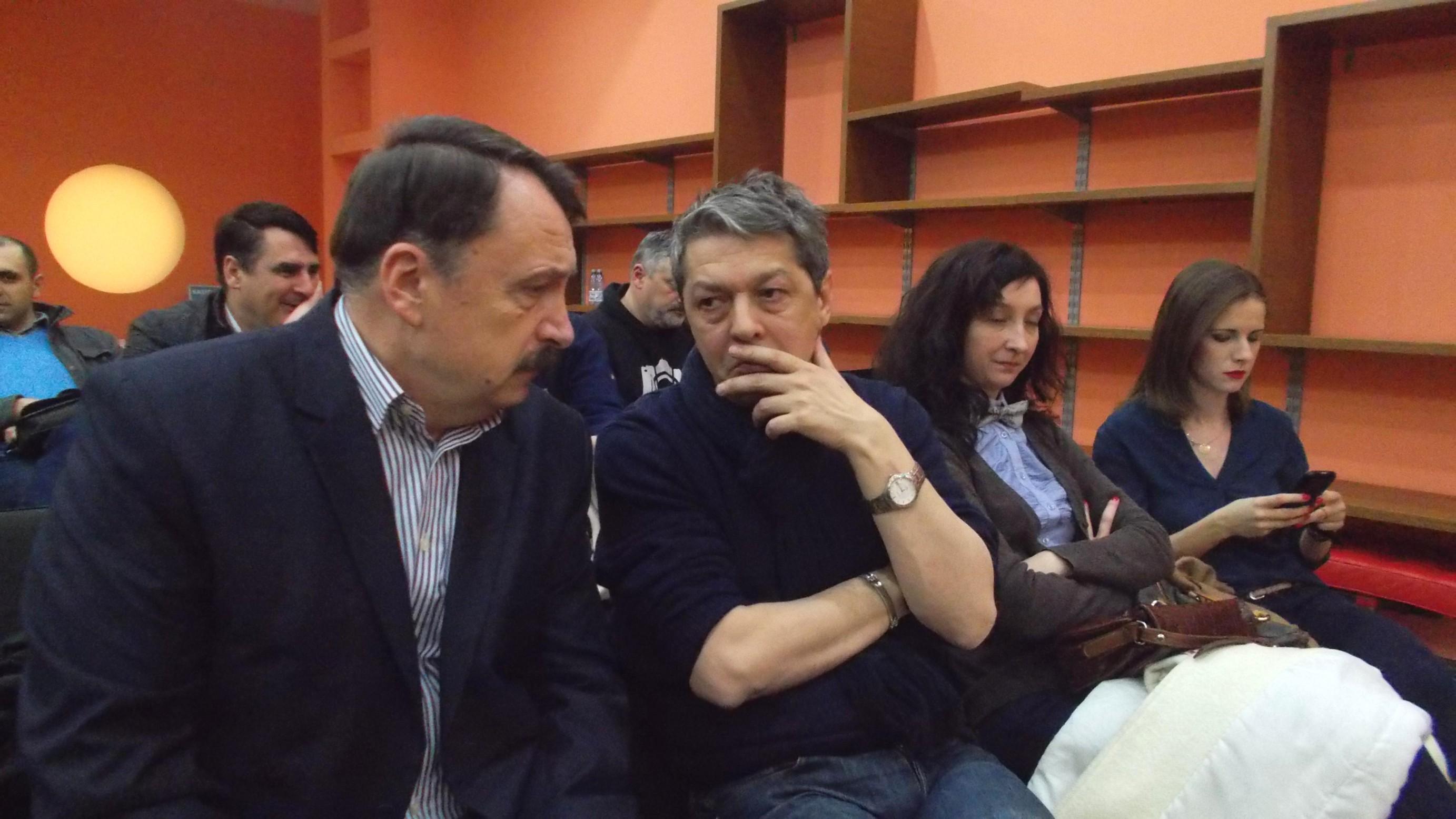 Vasile Ilie, Sorin Avram, prietena lui Sorin şi Cătălina Biholar