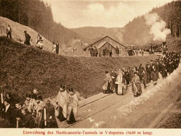 Sinţirea Tunelului Mestecăniş, la Valea Putnei