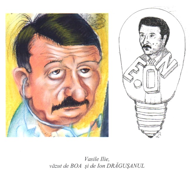 Vasile Ilie vazut de BOA si DRAGUSANUL