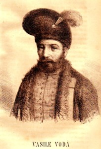 Vasile Lupu, desenat de A. Bielz