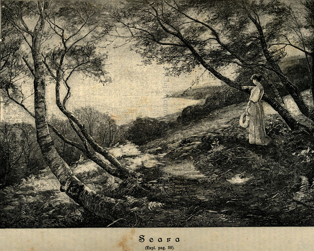 O ilustrație din VATRA: Seara