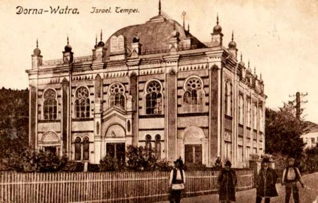 Vatra Dornei, Templul Evreiesc