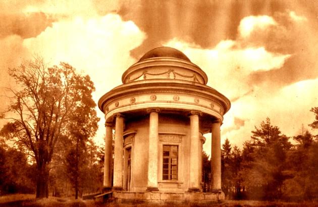 Veltrusy, pavilionul