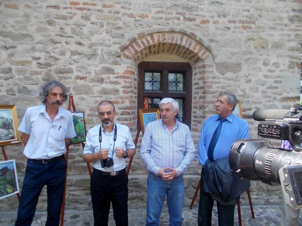 Pictorii Dziubinski, Cosovan, Csukat şi prefectul Harasim