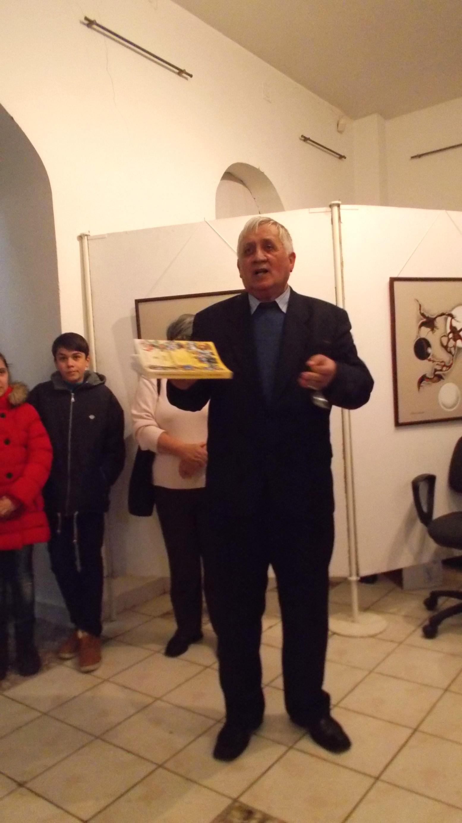 Gheorghe Solcan, îmbrâncindu-l pe Eminescu