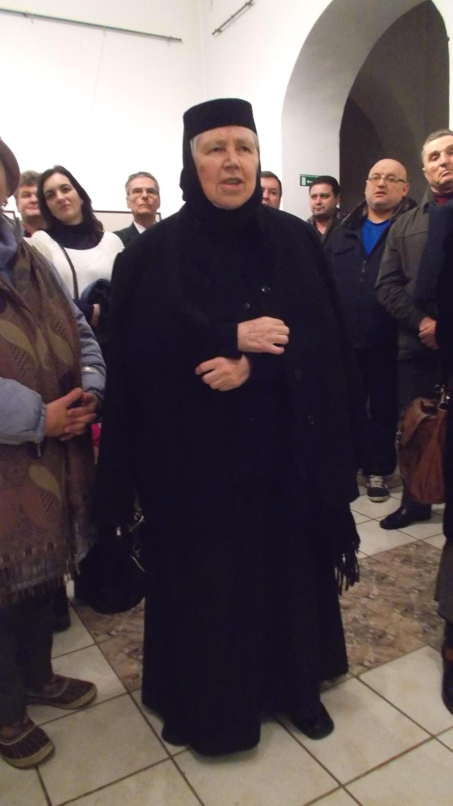 Maica stareţă Elena Simionovici, de la Voroneţ