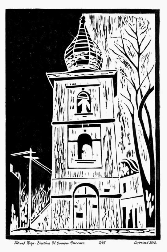 Turnu Roşu, Biserica Sfântul Simion - de Tiberiu Cosovan