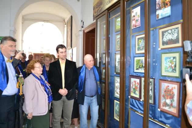 Vernisajul expoziţiei de pictură a Doamnei Doamnă Rodica Alexandru
