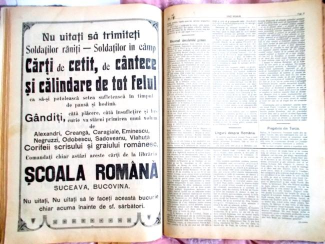 Viata Noua Reclama dec 1915 front