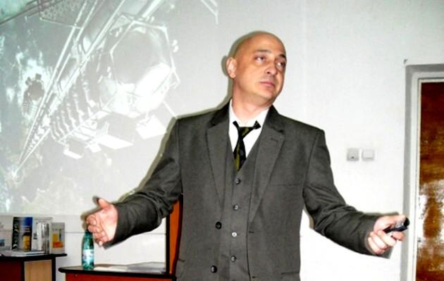 Profesorul Victor Şutac