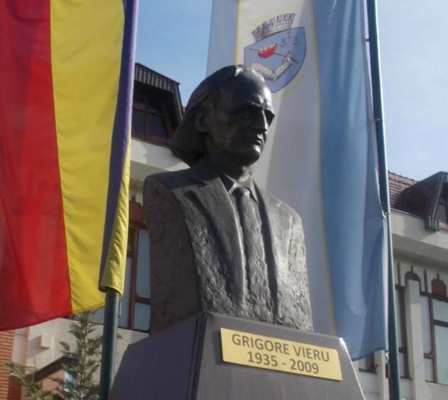 Grigore Vieru, nu în Suceava, nu în Moldova, ci la Târgu Mureş