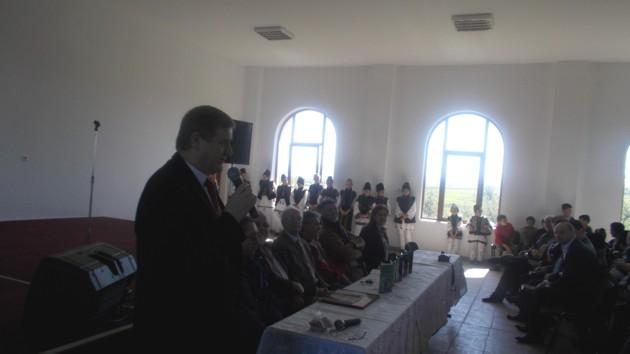 """Managerul Centrului Cultural """"Bucovina"""", domnul Viorel Varvaroi"""