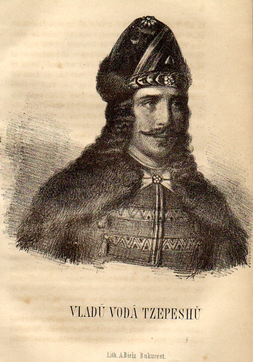 Vlad Tepes, desenat de A. Bielz