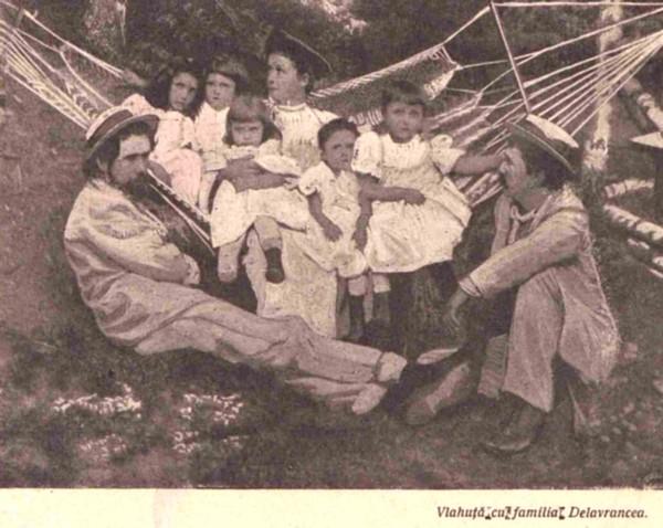 Vlahuta si familia Delavrancea LUCEAFARUL nr 2 1905 p 40