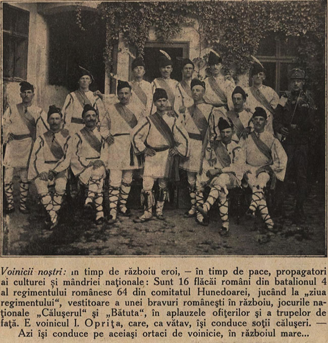 Voinicii noștri - Cosânzeana din 16 august 1914