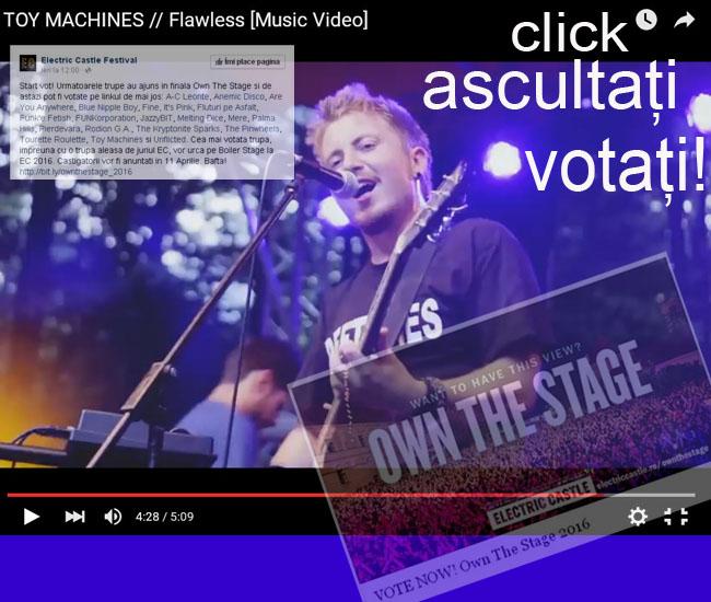 Votati FLAWLESS si dati mai departe