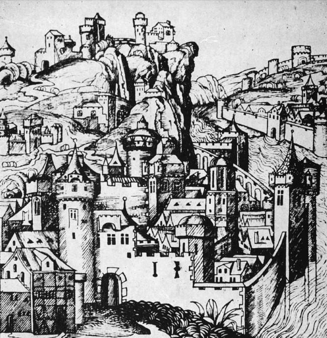 XV Oras din Tara Româneasca fantezie de Schedel