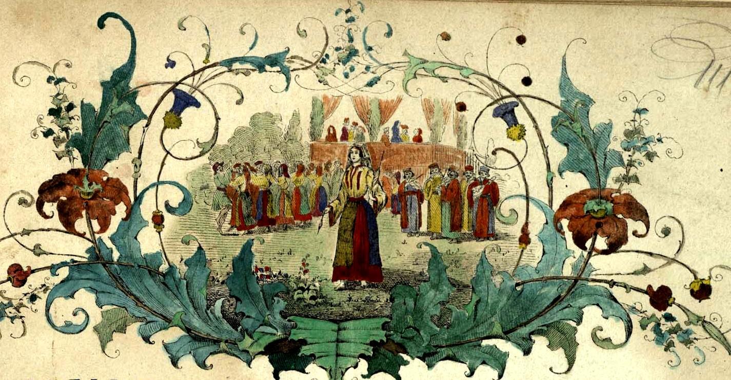 Desen de pe coperţile culegerilor lui J. A. Wachmann