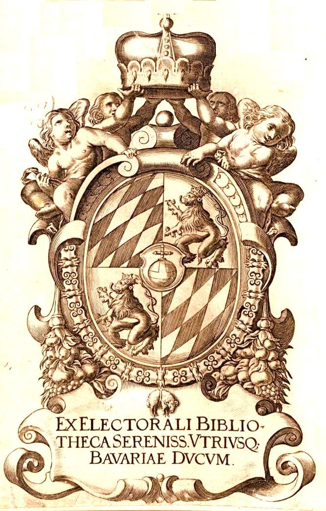 """Coperta pentru """"Chronica Hungarorum"""", ediţia din 1618"""