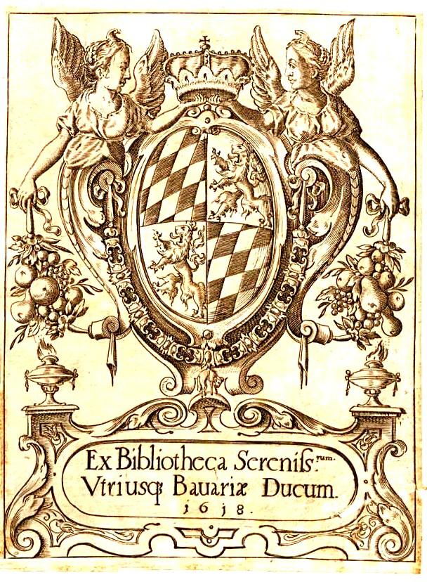 A doua copertă, din 1618, a cărţii publicate în 1488