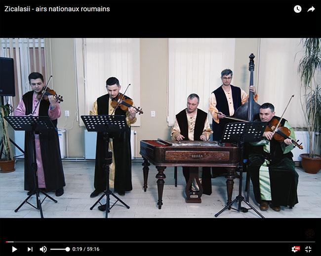 ZICALASII airs nationaux roumains
