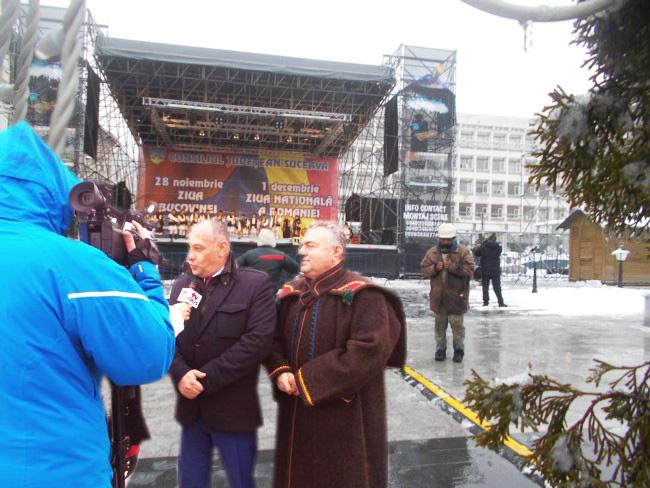 Băişanu: Desigur, după Ziua Bucovinei, voi legifera şi Capitala Culturală a Boschetarilor...
