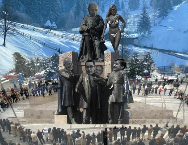 Traian Băsescu: Să nu uitaţi că din Traian şi Decebala vă trageţi!