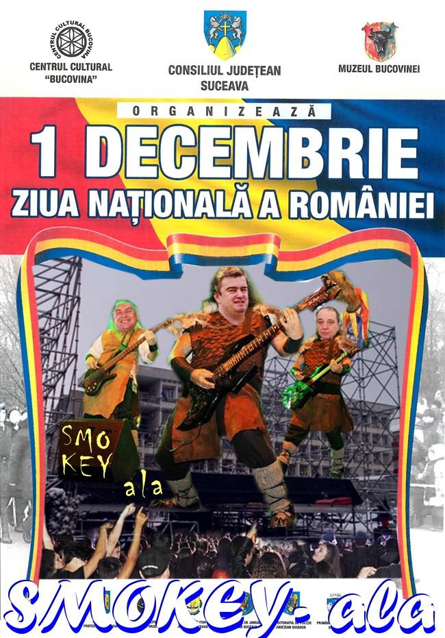 Ziua Romaniei cu Smokey ala