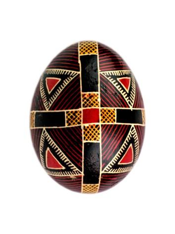 Crucea, pe oul încondeiat