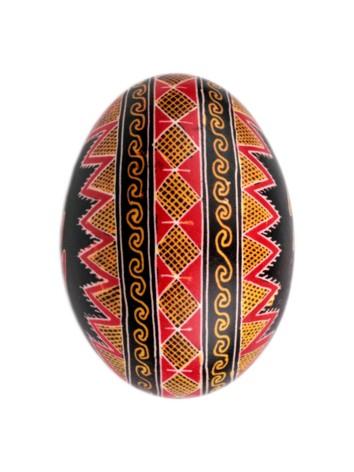 Calea Sfinţeniei (Zeilor), pe oul încondeiat