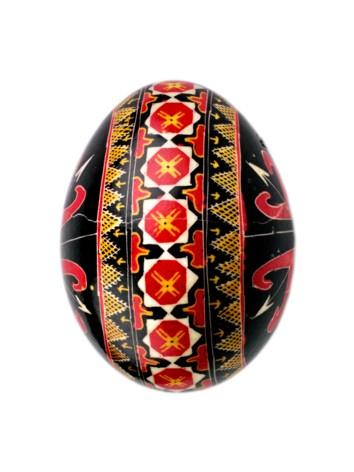 """""""un ou roşu, pe care era desenată şi o Cunună"""""""