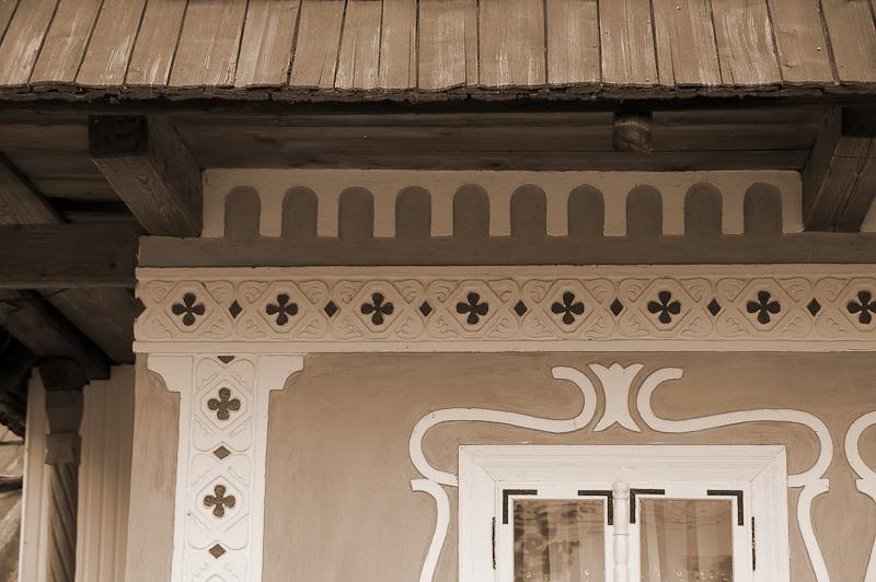 Calea Sfinţeniei (Zeilor), pe o casă din Marginea