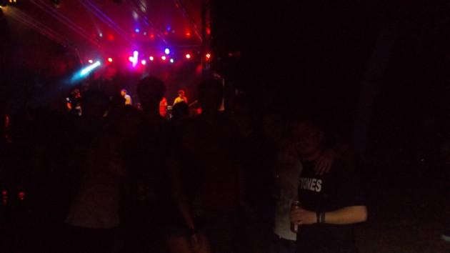 Public şi muzică rock, în noapte