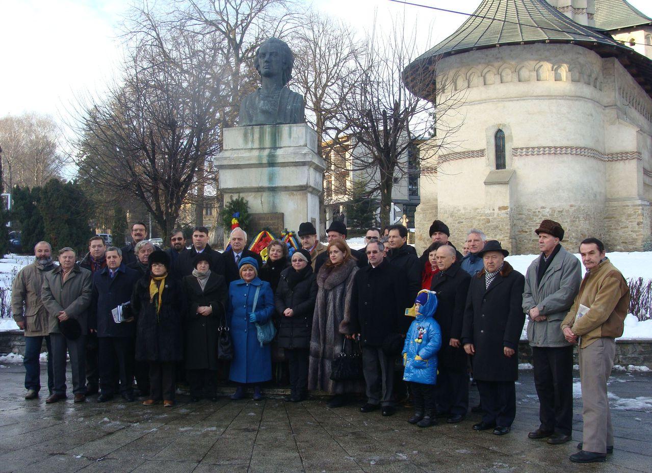 Atât există în spiritualitatea română, ei şi Eminescu