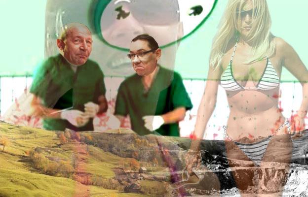Roşia Montană, pe masa de... malpraxis prin operaţii, politică şi tranzacţii