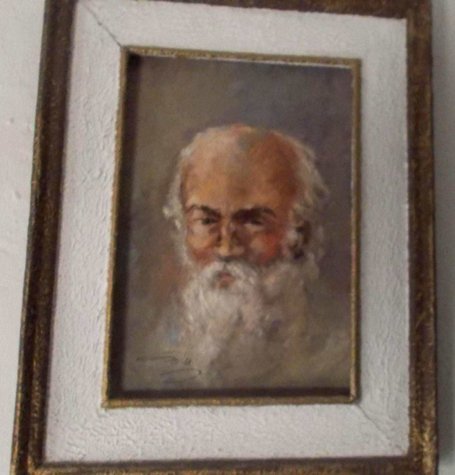 Un tablou de pe scara blocului lui Dimitrie Savu