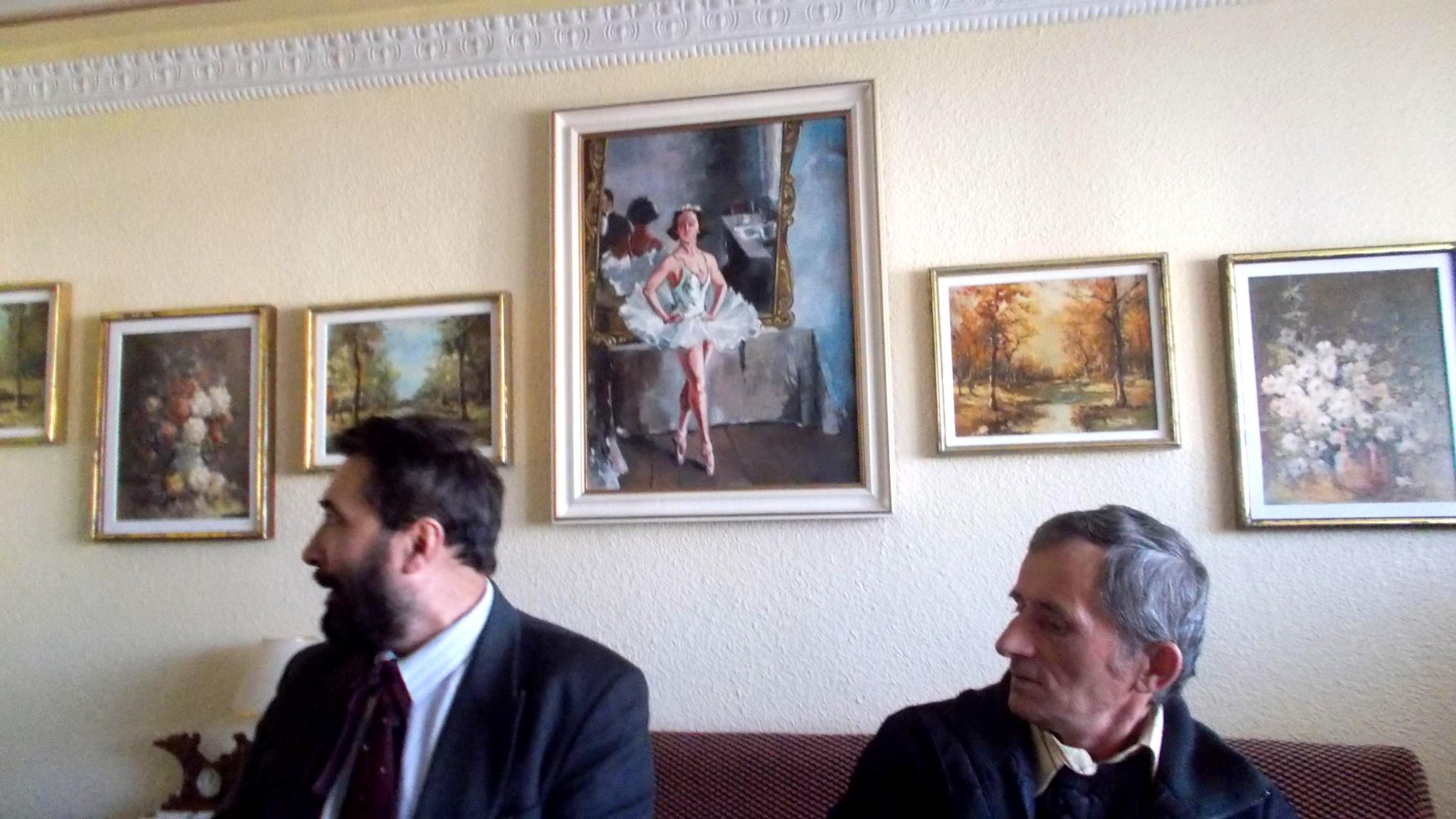 Constantin Ungureanu-Box şi Gheorghe Senciuc, uitând de foame