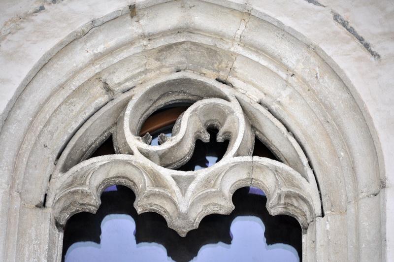 in şi iang, la Biserica Sf. Dumitru din Suceava