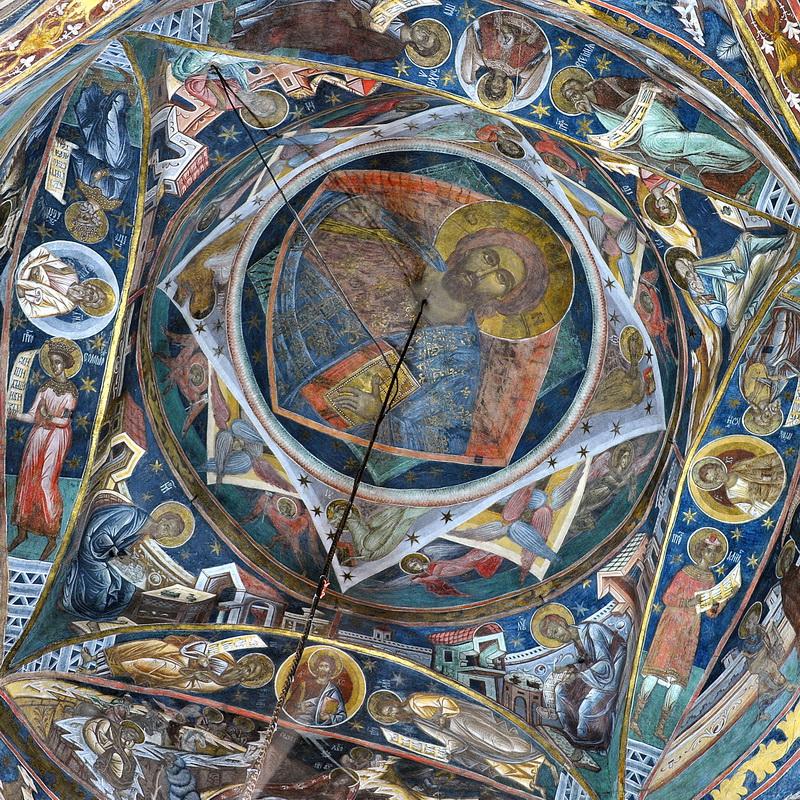 Spaţiul deplinei sacralităţi, la Mănăstirea Humorului