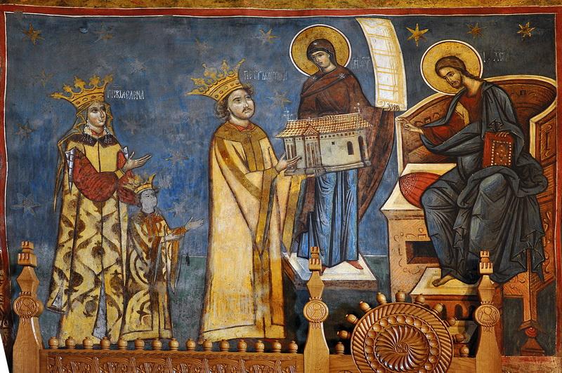 Închinarea mănăstirii Humorului