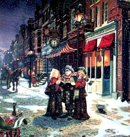 Christmas carols - preluare de pe www.savekensalriselibrary.org