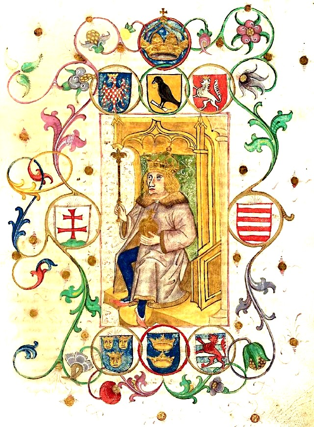 Heraldica maghiarizaţilor Corvinus, după un document german