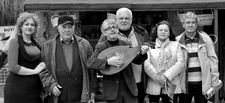 Gabi Teişanu, Ion - drăguşanul, zicălaşul Irimia, Radu Iaţco, Doina Catargiu şi Constantin Horbovanu